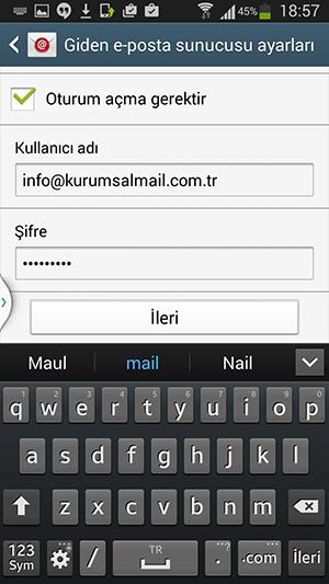 İphone Mail Hesabı Kurulumu